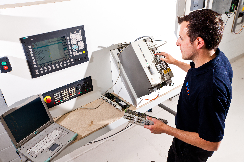Siemens 840D Test Rig